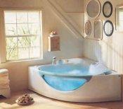Tenere al caldo in casa vasca doccia sotto la finestra - Vasca sotto finestra ...