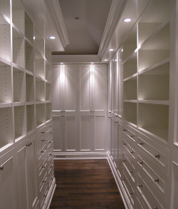 Lampade per la cabina armadio